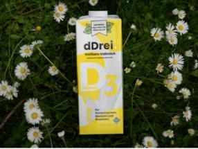 Die erste Milch, bei der ein Glas den empfohlenen Tagesbedarf an Vitamin D deckt