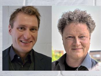 Prof. Dr. Sven Schneider (left), Prof. Dr. Max C. Holthausen (right)