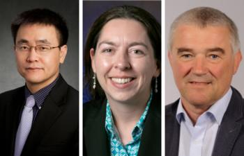 A new research project that aims to produce green hydrogen more efficiently brings together a multidisciplinary team comprising professors Hong Yang and Nicola Perry at the University of Illinois Urbana-Champaign and Professor Andreas Klein at the Technical University of Darmstadt.