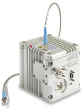 Vielseitig - Breitbandiges Licht liefert die Lichtquelle auch über den optionalen Faserausgang