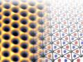 Dreieckige Honigwaben: Neues Zukunftsmaterial designed
