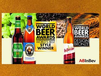 Ausgezeichnet: Franziskaner Alkoholfrei und Diebels Alt holen World Beer Awards 2021