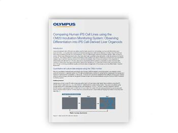 Application Note: Comparing Human iPS Cell Lines using the CM20 Incubation Monitoring System