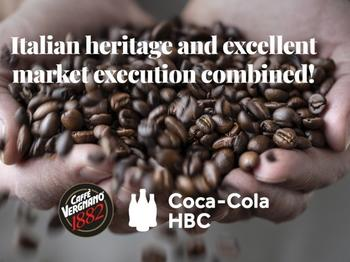 Coca-Cola HBC AG Completes the acquisition of a minority stake in Caffè Vergnano