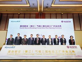 New fumed silica plant by Evonik and Wynca goes on stream
