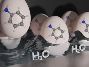 Molecules in an egg carton: How water surfaces can be used to produce functional materials