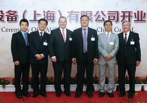 Michael Lin, Bob Gong, Dr. Gunther Wobser, Henry Cheong, Stephen Yu,Dr. Gerhard Wobser