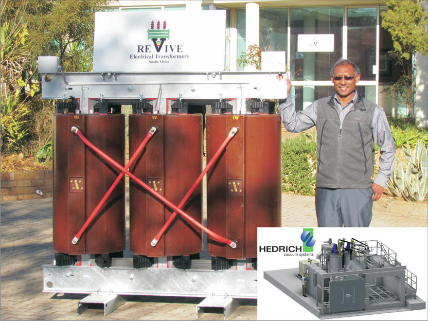 First dry-type transformer in South Africa is manufactured
