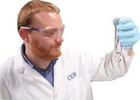 Farbloser Aufschluss von 2 g organischer Probe