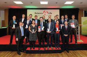 Gewinner der Konzeptphase des Science4Life Venture Cup 2015