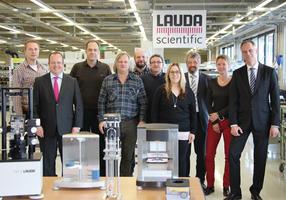 Geschäftsführung Dr. Gunther Wobser und Dr. Ulf Reinhardt