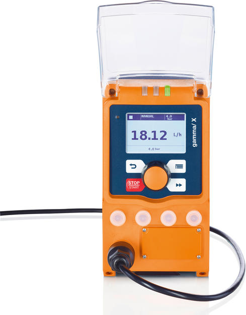 First Metering Pump with Predictive Intelligence