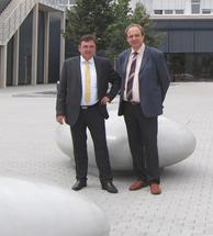 Max Wild und Dr. Horst Ammon