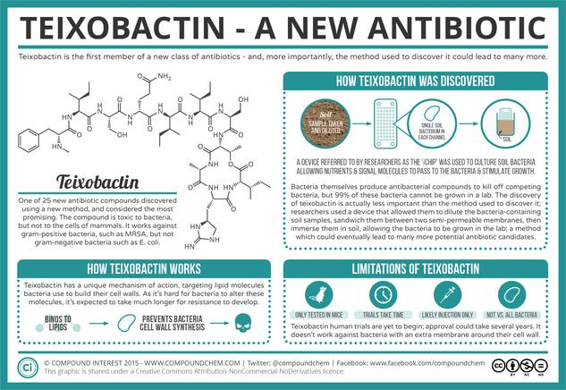 Teixobactin: A New Antibiotic, and A New Way to Find More