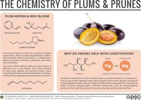 The Chemistry of Plums & Prunes: Constipation & Chewing Gum
