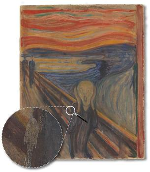 The 'Scream' by Edvard Munch