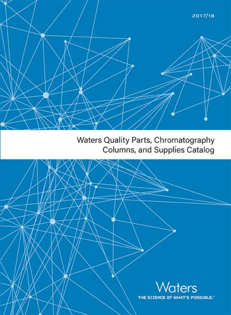 waters quality parts chromatography columns and supplies catalog