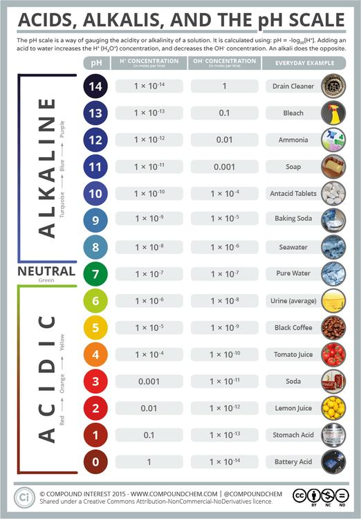 Acids, Alkalis, and the pH Scale