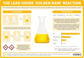 Chemical Reactions: Lead Iodide & 'Golden Rain'