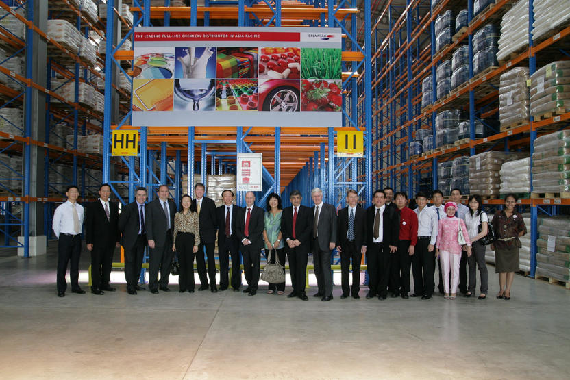Brenntag Opens New Chemical Distribution Facility in