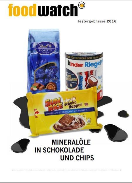 Foodwatch Kinderriegel