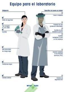 En el laboratorio, la seguridad es lo primero - - Póster