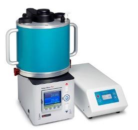 PhotoSyn™ Flow-Photoreaktor mit Uniqsis Cold Coil-Einheit.