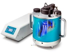 PhotoSyn™ Flow-Photoreaktor im Querschnitt