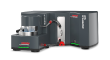Compact laser particle size analyzer with extra wide measuring range