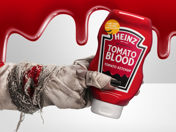 America's Favorite Ketchup returns with HEINZ Tomato Blood Ketchup, new HEINZ Tomato Blood Costume Kit and first-ever HEINZ Halloween Store in LA
